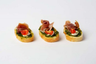 Cold Canapes - Elia Caterers