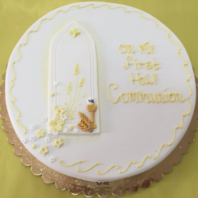 Holy Communion Cake - HC1 - Elia Caterers