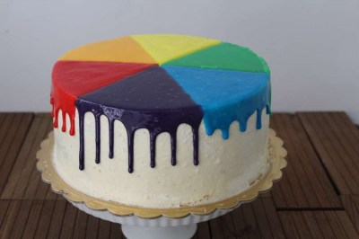 Wet paint cake - Elia Caterers