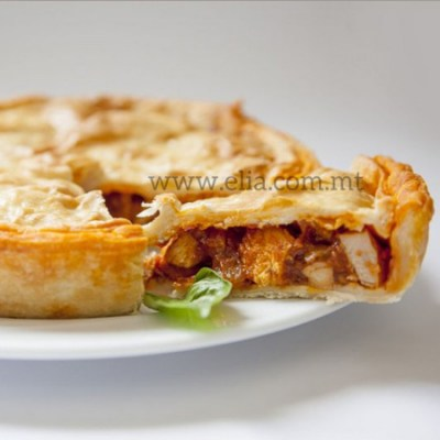 Frozen Picnic Pie Chicken Curry - Elia Caterers