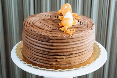 Chocolate orange cake - Elia Caterers
